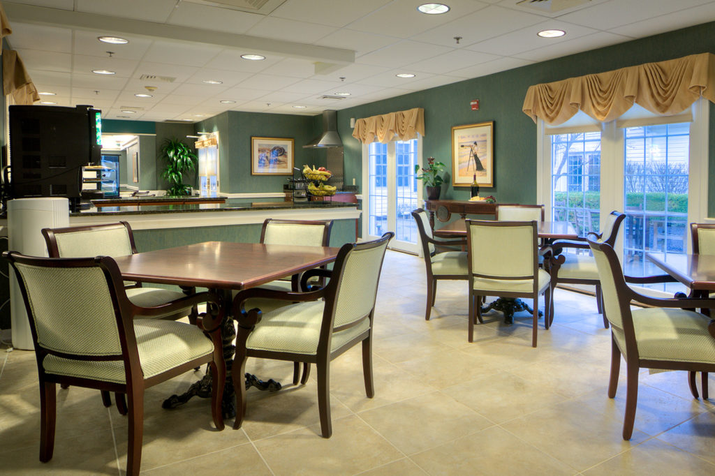 Seaside Dining bistro for guests to enjoy.