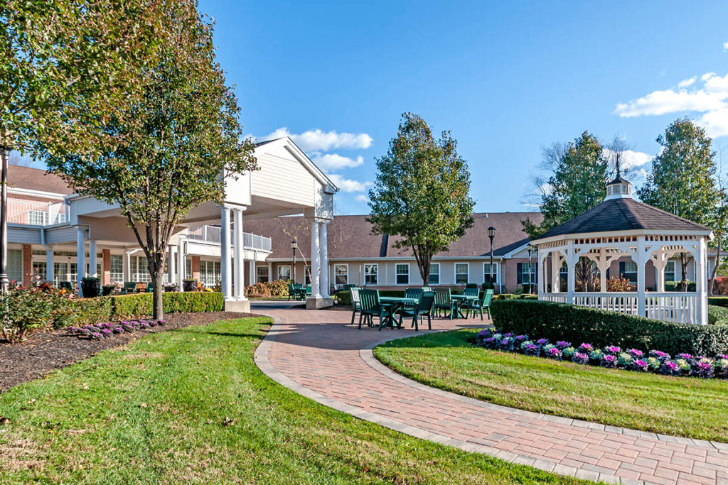 Brandywine Living at Reflections at Colts Neck alternate front entrance