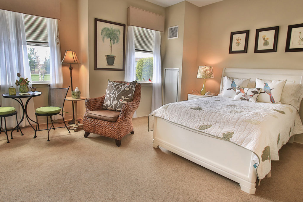 Brandywine Living at Reflections at Colts Neck example room layout