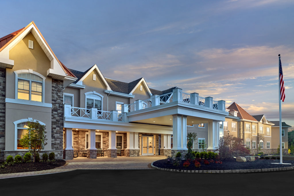 Exterior image of Brandywine Living at Livingston
