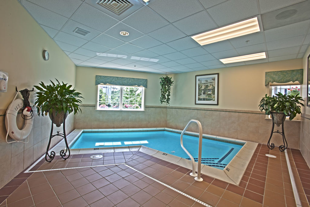 Longwood indoor pool for aquatic therapy