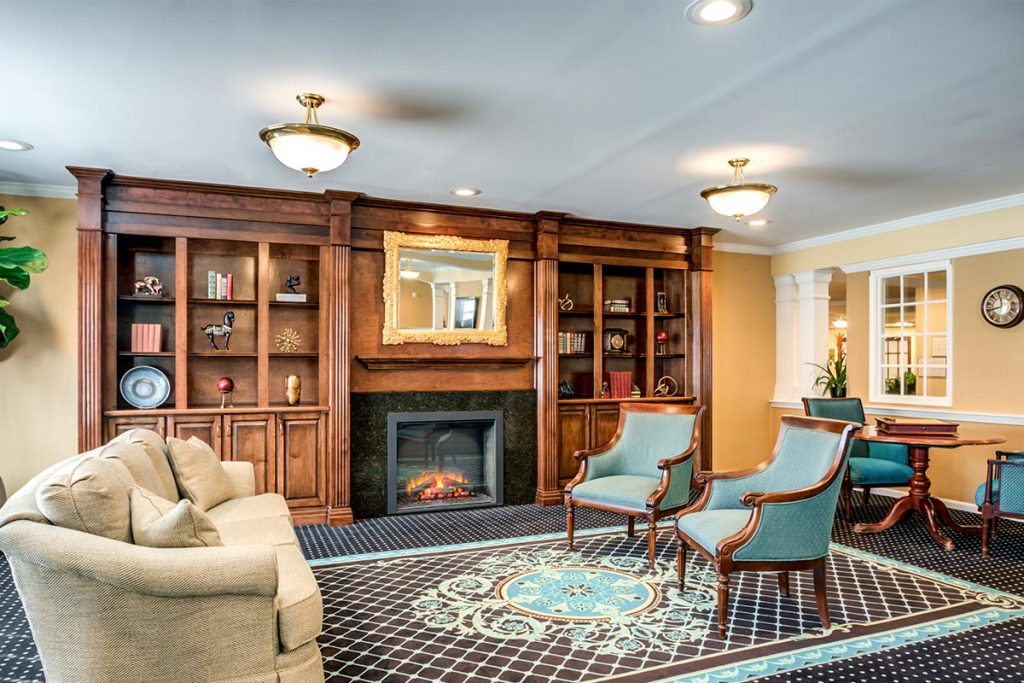 Senior Living Fireplace