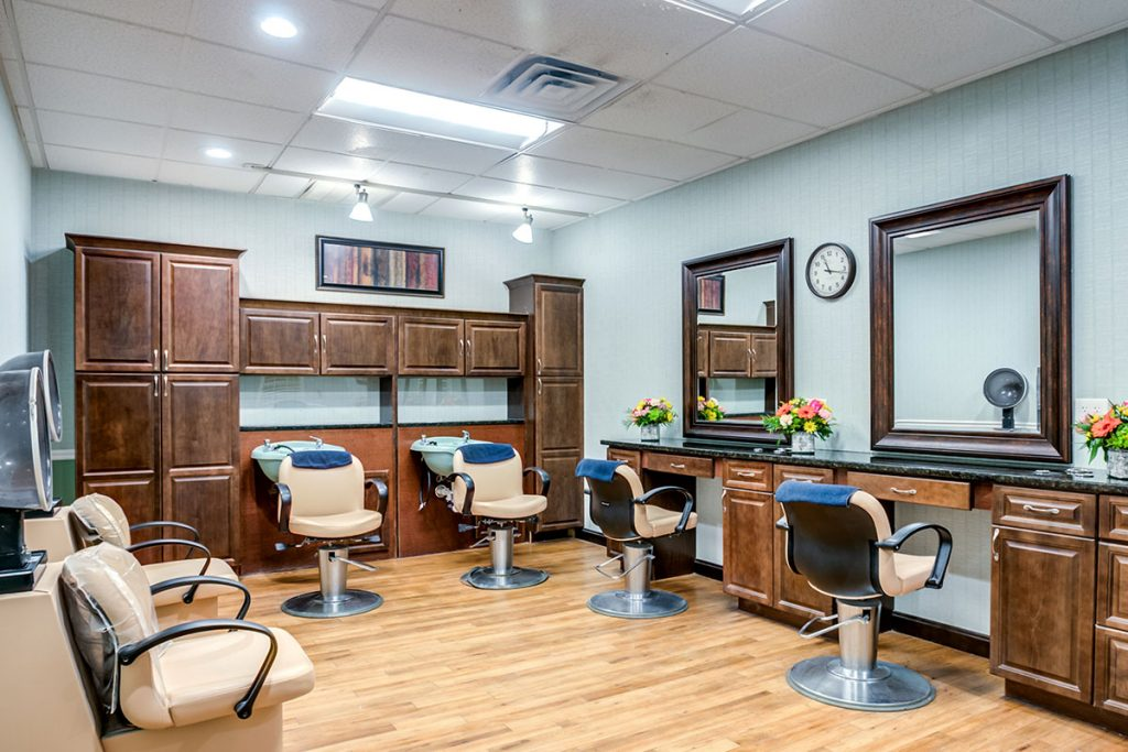Senior Living Salon