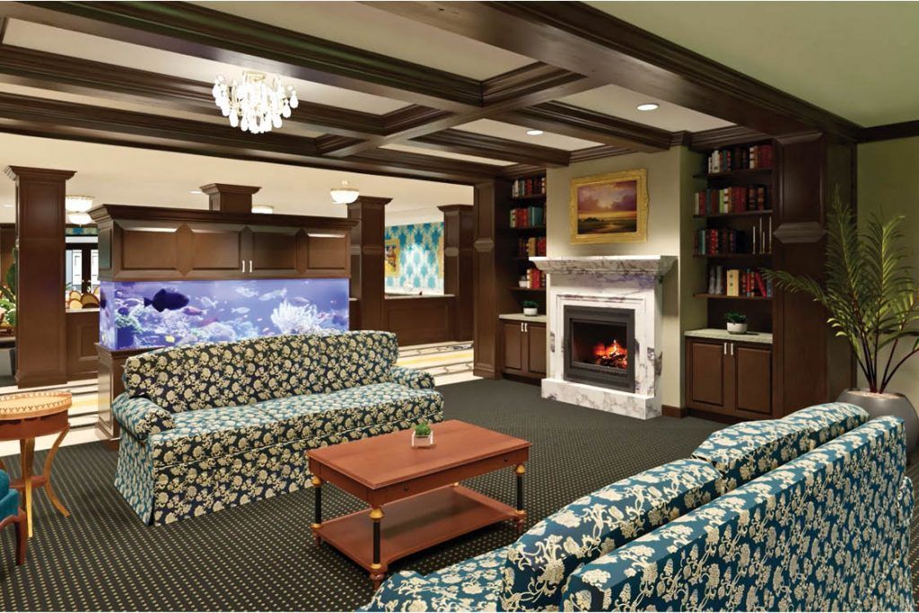 Senior Living Parlor