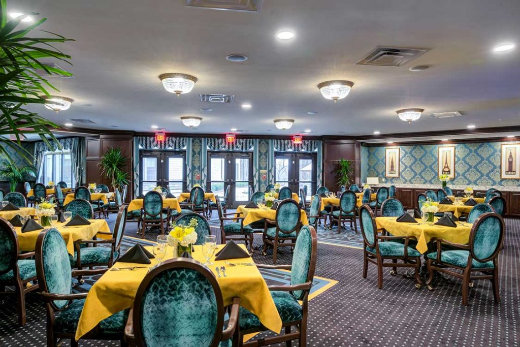 Potomac Senior Living Dining Room