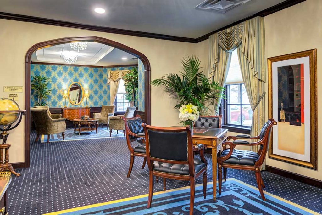 Potomac Senior Living Lounge
