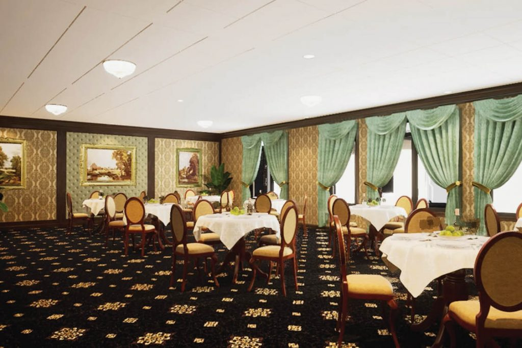 Senior Living Serenade Dining Room