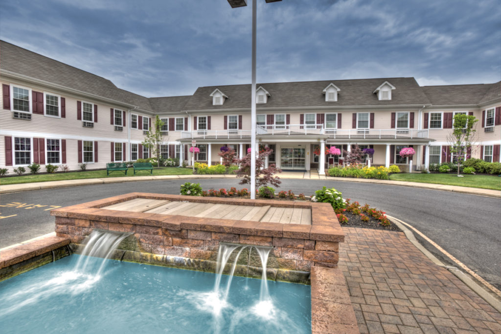 Brandywine Living at Toms River front entrance