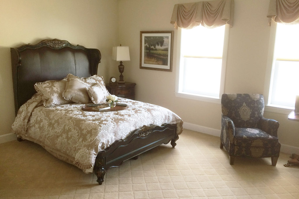 Resident Room With Large Bed