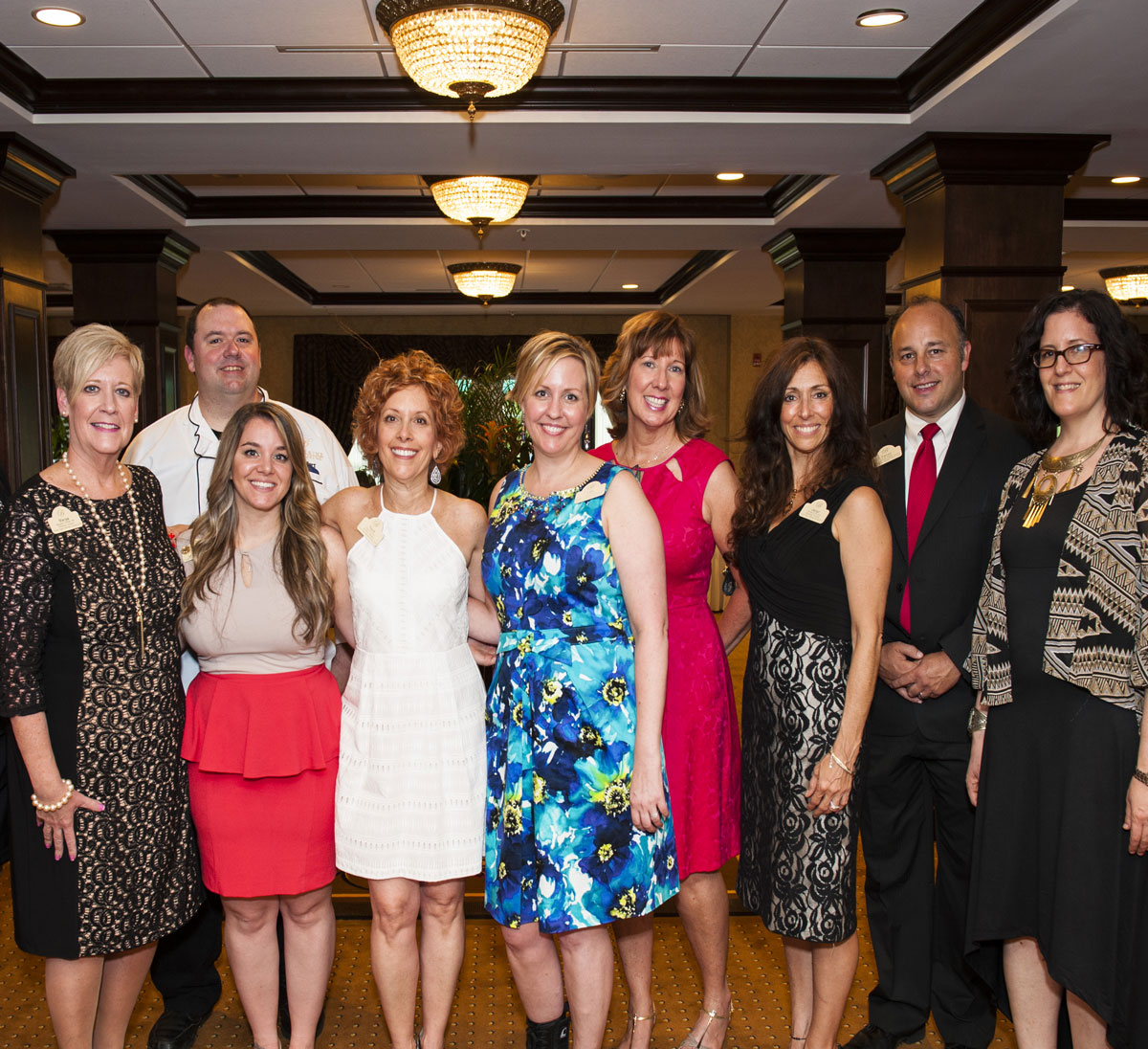 Brandywine living team photo at event