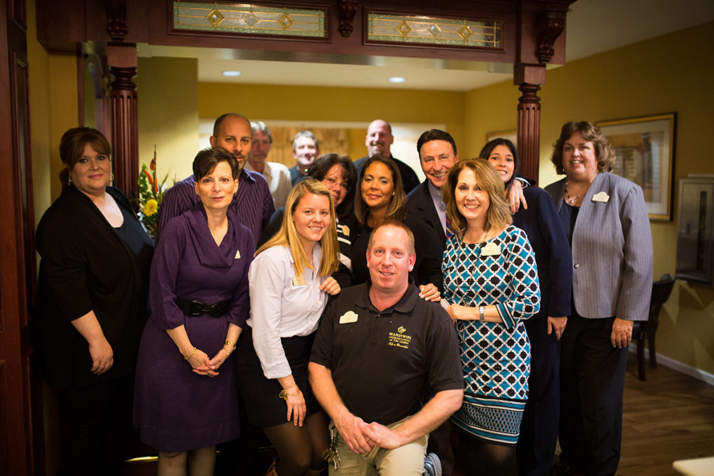Brandywine Living at The Gables group photo of staff and guests